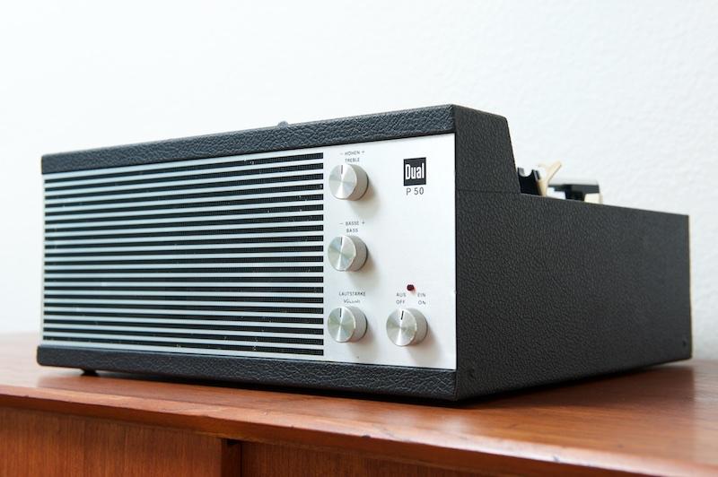 phonokoffer dual p50 mit verst rker lautsprecher mit. Black Bedroom Furniture Sets. Home Design Ideas
