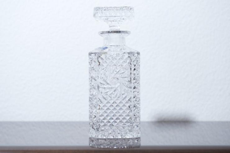 spirituosen whisky cognac karaffe lausitz sole kristallglas bliss modern antiques. Black Bedroom Furniture Sets. Home Design Ideas