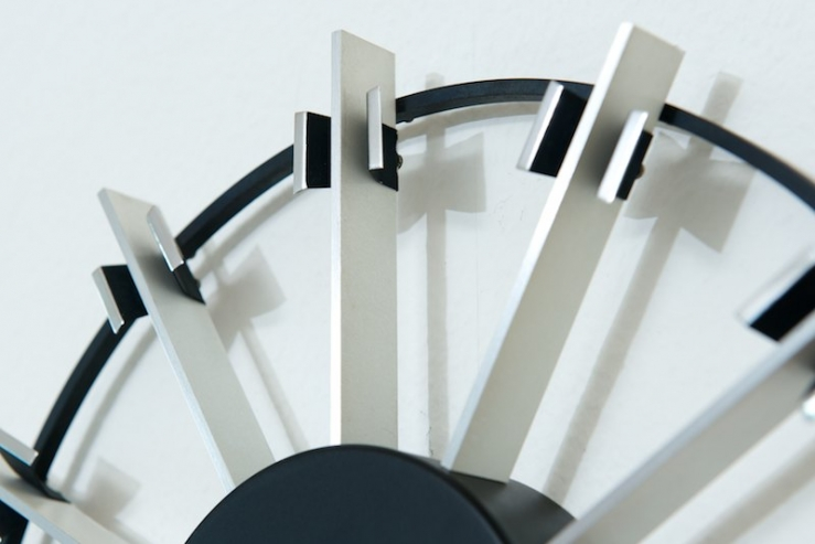 wanduhr kienzle automatic 1968 funk uhrwerk bliss modern antiques. Black Bedroom Furniture Sets. Home Design Ideas