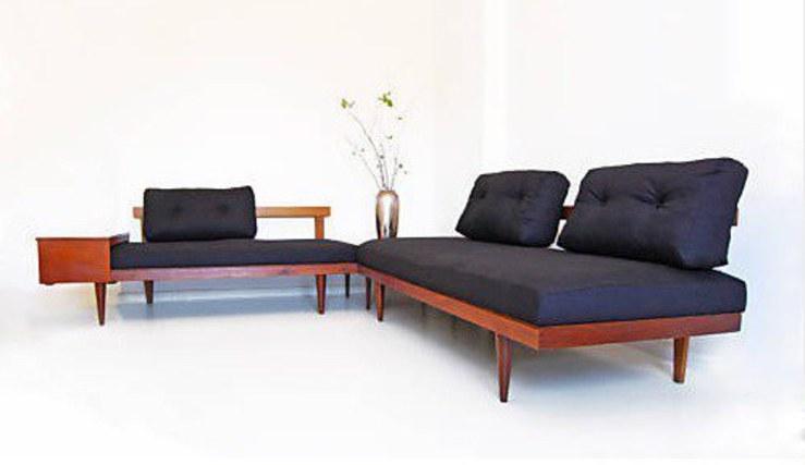 2er sofa daybed teak deluxe bliss modern antiques. Black Bedroom Furniture Sets. Home Design Ideas