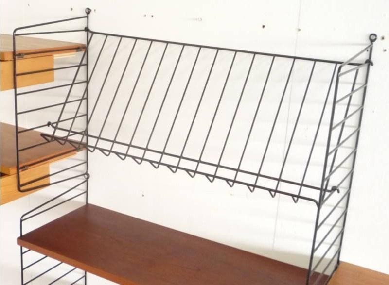 string regalsystem best er jahre with string regalsystem. Black Bedroom Furniture Sets. Home Design Ideas