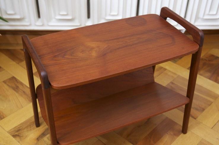 Beistelltisch Mit Zeitungsablage Holz ~ Beistelltisch mit Zeitungsablage TEAK – BLISS modern antiques