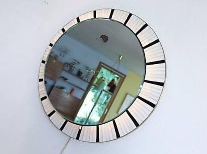 runder spiegel mit beleuchtung bliss modern antiques. Black Bedroom Furniture Sets. Home Design Ideas