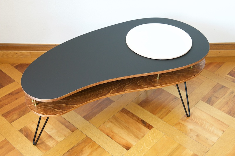 couch table bar white platter black dark birch bliss modern antiques. Black Bedroom Furniture Sets. Home Design Ideas