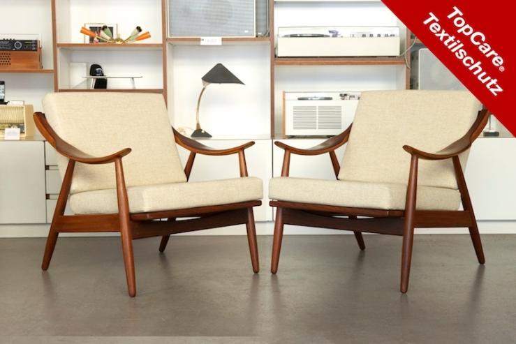 sessel duo telm dansk 1963 topcare fleckschutz garantie bliss modern antiques. Black Bedroom Furniture Sets. Home Design Ideas
