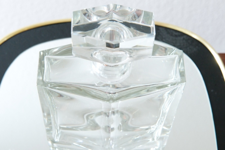 spirituosen whisky cognac karaffe chanel kristallglas bliss modern antiques. Black Bedroom Furniture Sets. Home Design Ideas