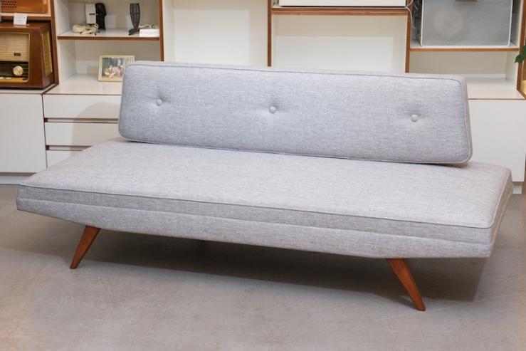 schlaf sofa daybed belfort lichtgrau 1958 topcare fleckschutz garantie bliss modern antiques. Black Bedroom Furniture Sets. Home Design Ideas