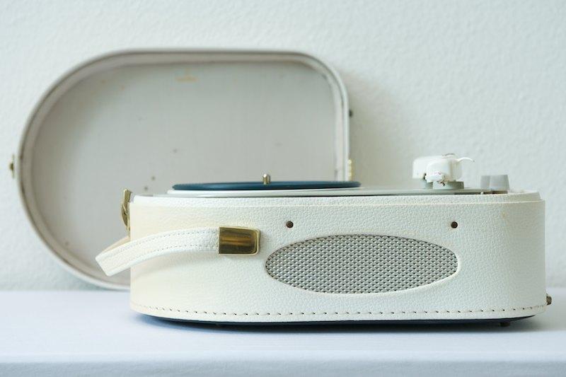 koffer plattenspieler lenco 44rc 1955 bliss modern antiques. Black Bedroom Furniture Sets. Home Design Ideas