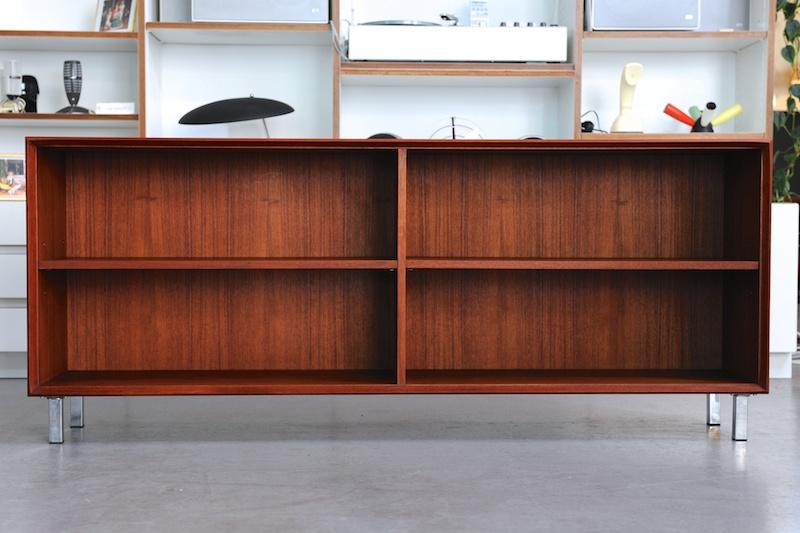 teak regal wilhelm renz 1967 bliss modern antiques. Black Bedroom Furniture Sets. Home Design Ideas