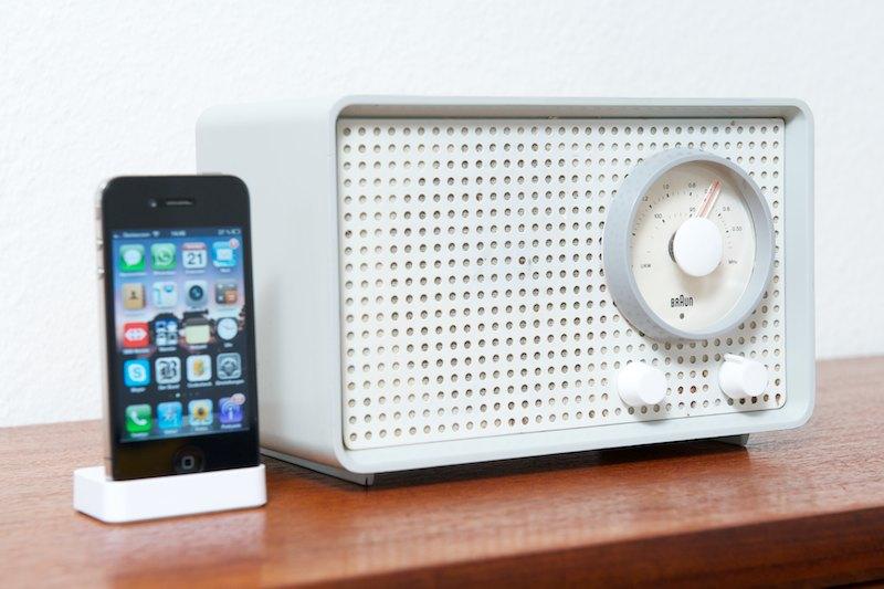 braun kleinsuper sk25 tischradio grau 1961 radio. Black Bedroom Furniture Sets. Home Design Ideas