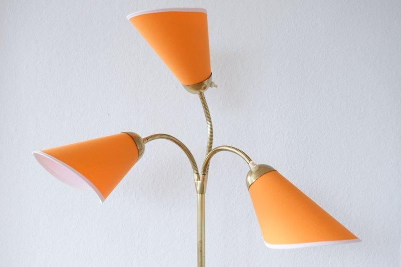 t ten stehleuchte orange rose 1955 bliss modern antiques. Black Bedroom Furniture Sets. Home Design Ideas