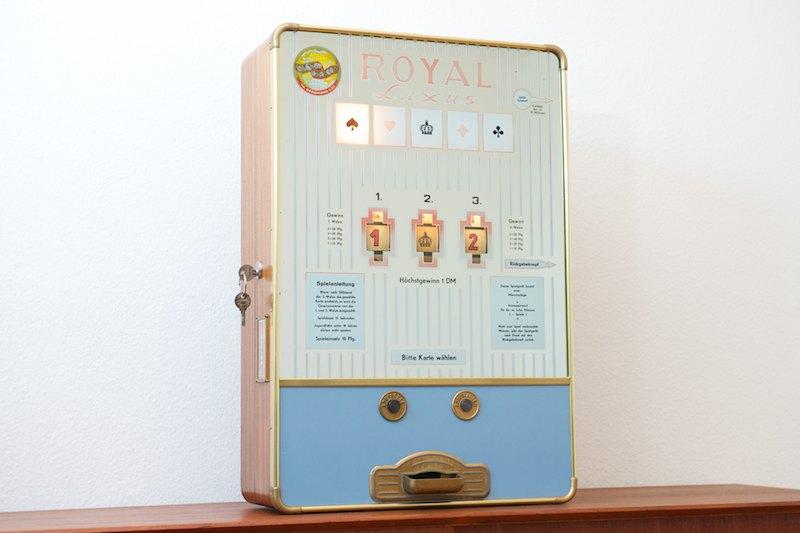 spielautomat von 1960 royal luxus
