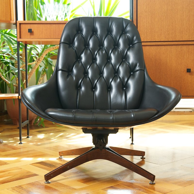 original master chair by george mulhauser 1957 bliss modern antiques. Black Bedroom Furniture Sets. Home Design Ideas
