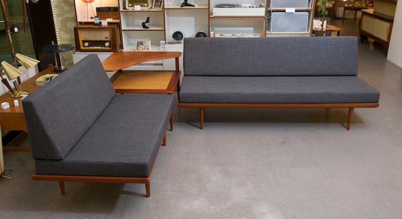 couch daybed kombi minerva france son hvidt m lgaard nielsen 1955 topcare fleckschutz. Black Bedroom Furniture Sets. Home Design Ideas