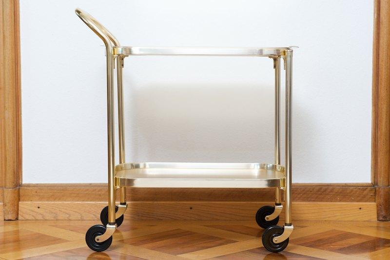 servierwagen barwagen kaymet gold 1959 bliss modern. Black Bedroom Furniture Sets. Home Design Ideas
