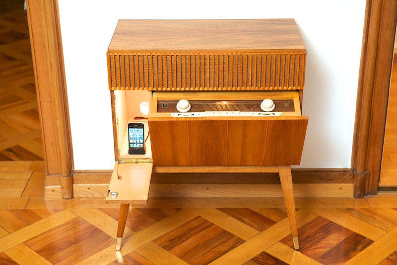 Grundig MUSIKSCHRANK 7055 ML, 1955 (Radio/Smartphone) – BLISS modern ...