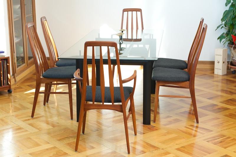 6er Set Teak Stühle KOEFOEDS HORNSLET Special TopCare