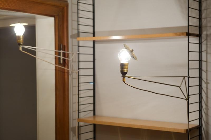 string regalsystem leuchte weiss bliss modern antiques. Black Bedroom Furniture Sets. Home Design Ideas