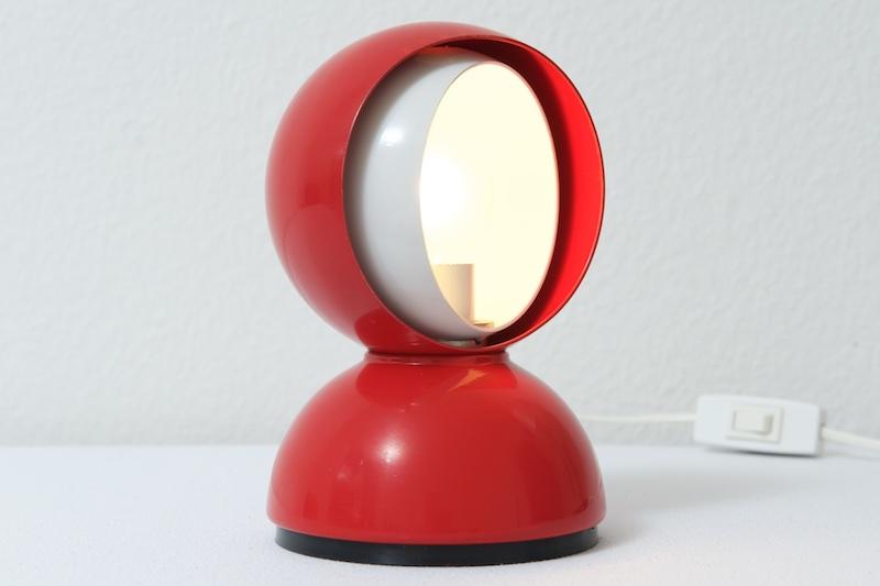 kleine tischlampe eclisse by artemide italy 1960er bliss modern antiques. Black Bedroom Furniture Sets. Home Design Ideas
