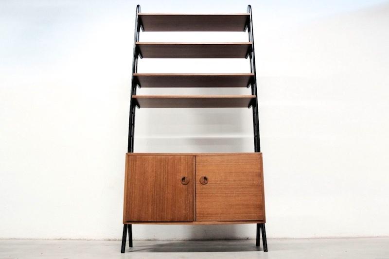 raumtrenner regal s lta teak 1960er bliss modern antiques. Black Bedroom Furniture Sets. Home Design Ideas
