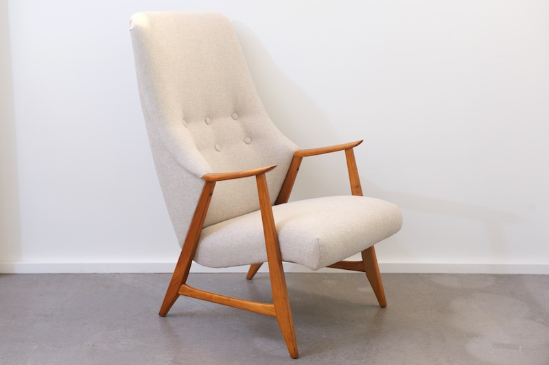 hochlehner sessel cherry royal 1950er ink 3 jahre top care fleckschutz garantie bliss. Black Bedroom Furniture Sets. Home Design Ideas