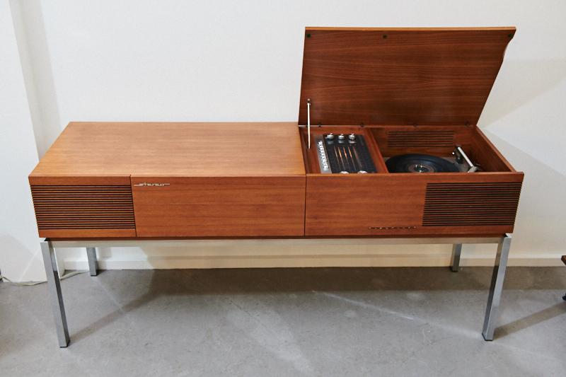 Audio Möbel blaupunkt arizona 1968 audio möbel radio lp smartphone chrom