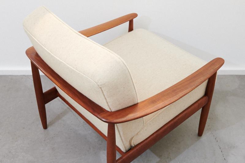 easy chair knoll antimott creme 1960er inkl 3 jahre top care fleckschutz garantie bliss. Black Bedroom Furniture Sets. Home Design Ideas
